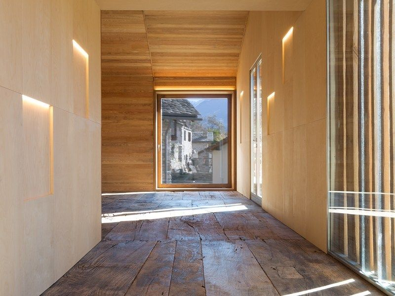 Vudafieri Saverino Partners completa la Mountain Stone House