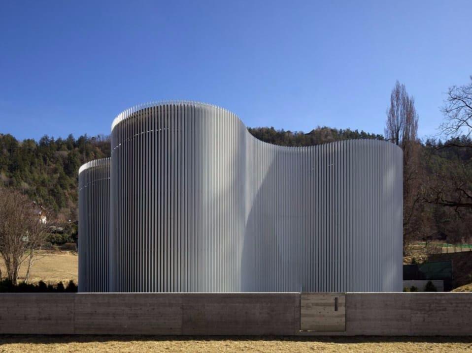 A Bressanone l'infrastruttura firmata MoDus Architects