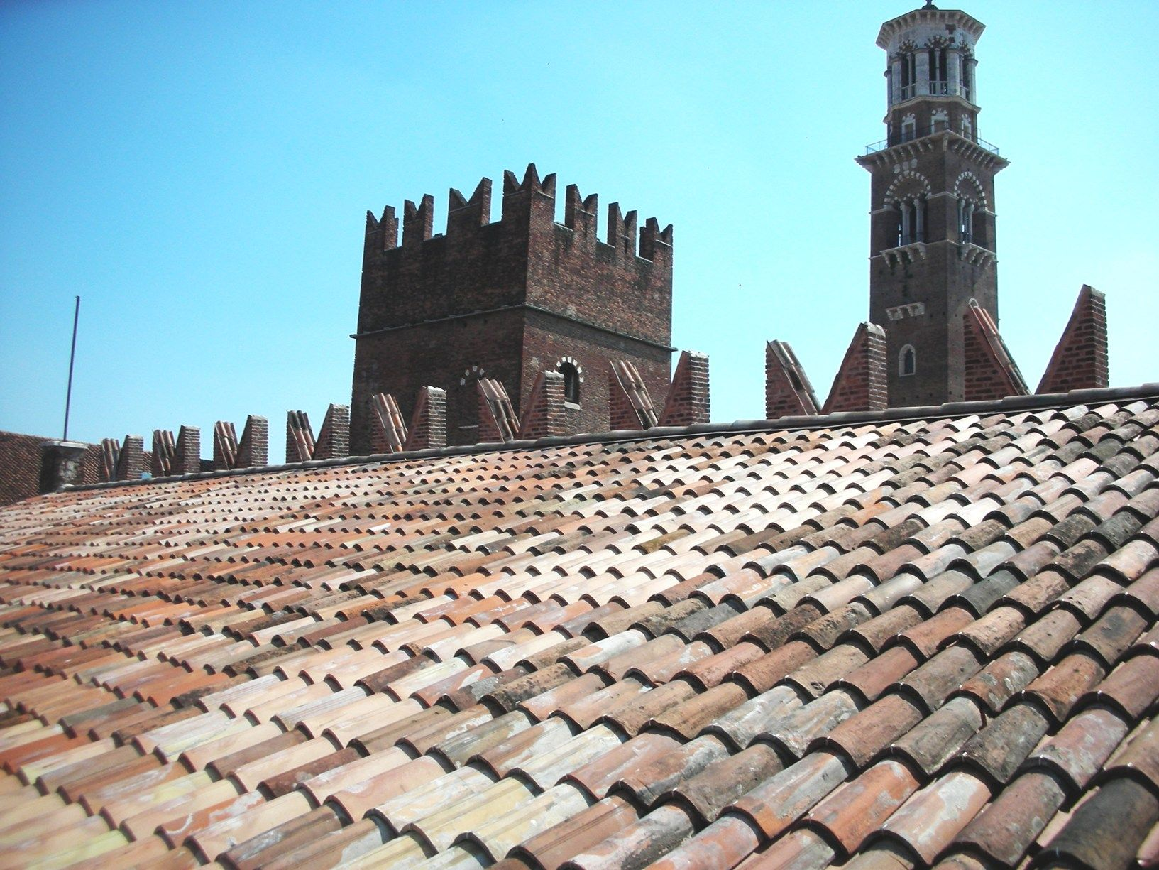 AERtetto per la realizzazione del nuovo tetto di Palazzo Scaligero a Verona