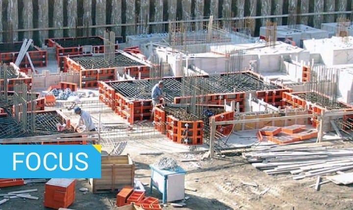 Vasca Da Lavare In Cemento : Muri in cemento armato come si realizzano e con quali tecnologie