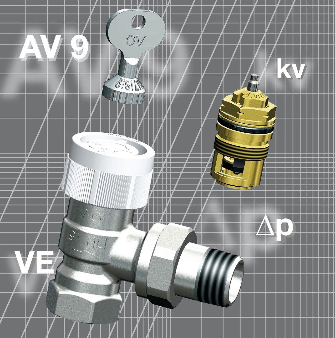 Tecnica e design: Oventrop presenta il nuovo sistema di regolazione per il miglioramento del comfort
