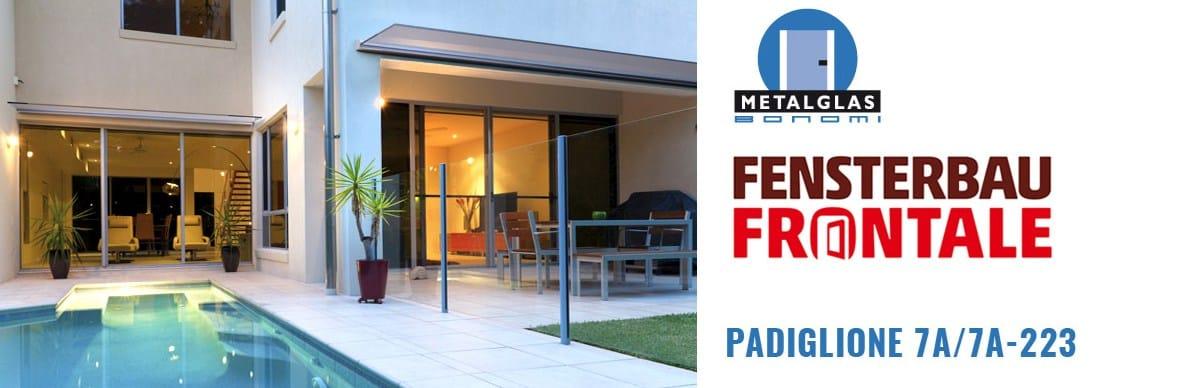 Tecnica e Design, Metalglas al Fensterbau Frontale