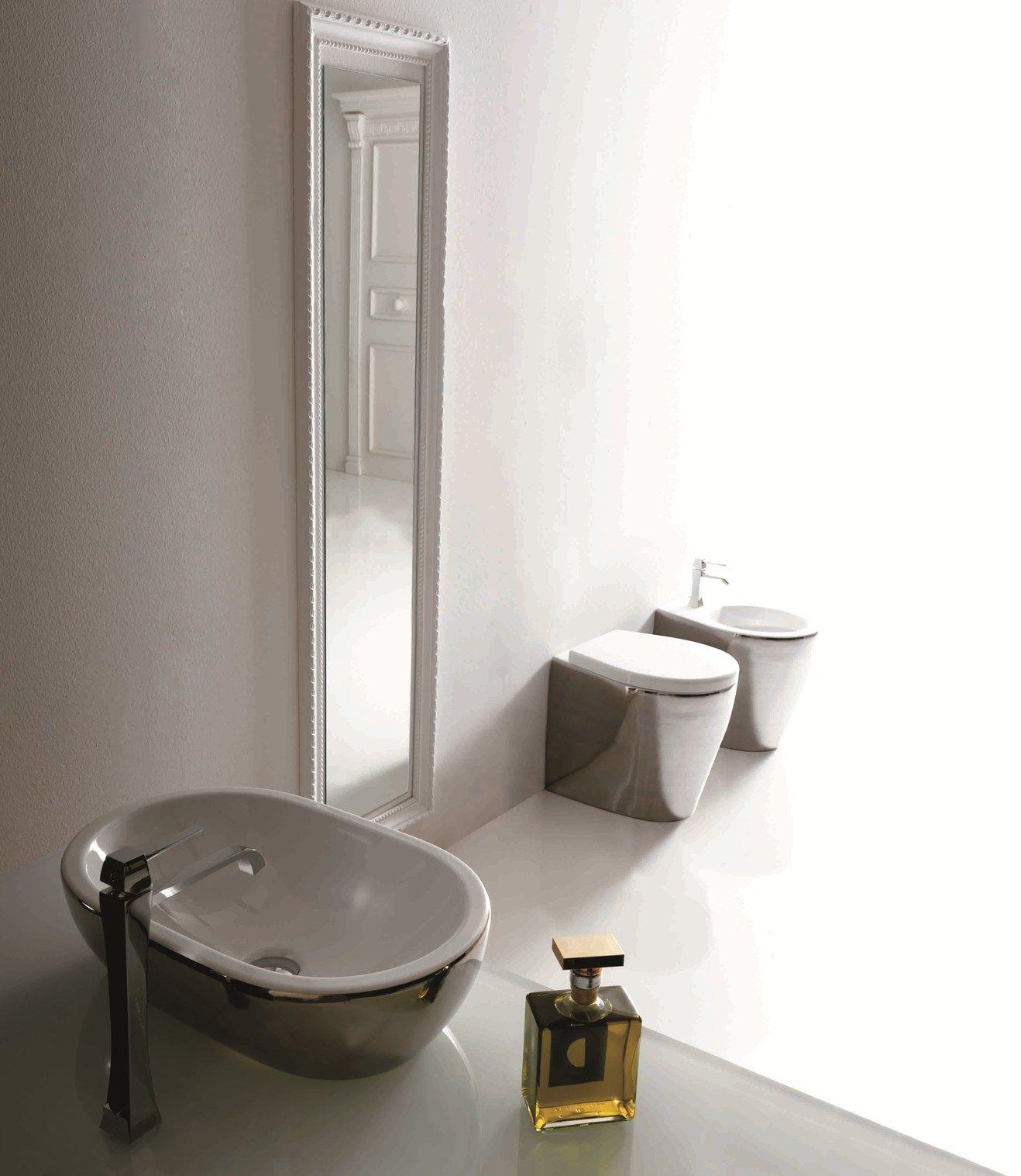 Un tocco di colore in bagno