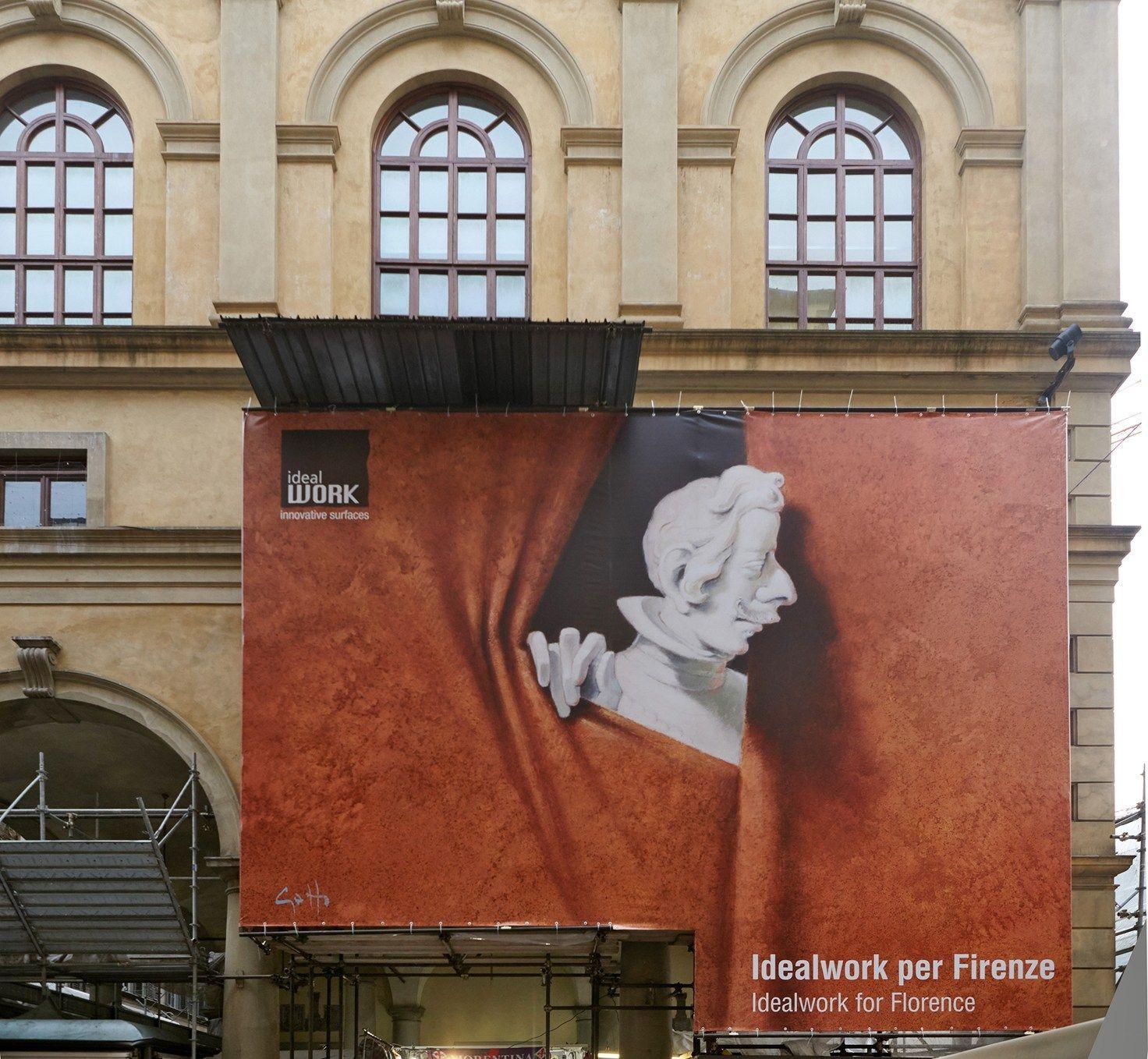Arte per l'arte: Ideal Work finanzia il restauro dello stemma di Cosimo II de' Medici a Firenze