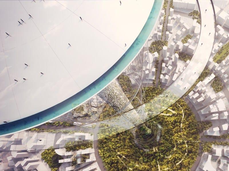 The Mile: il 'parco verticale' più alto del mondo by Carlo Ratti
