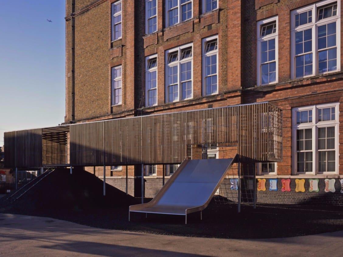 Asif Khan progetta un parco giochi sopraelevato a Londra