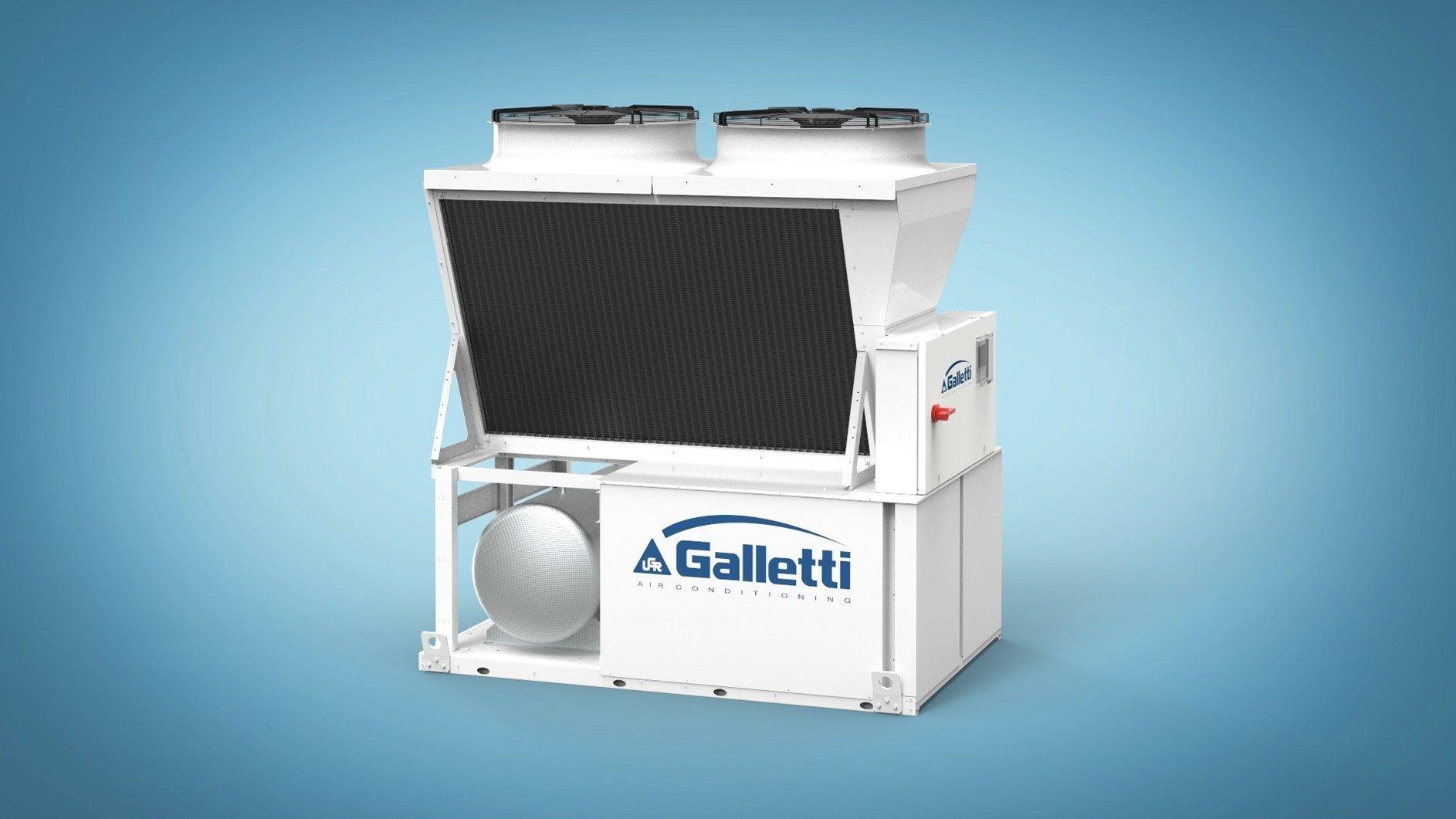 V-IPER: la nuova gamma di chiller e pompe di calore ad alta efficienza di Galletti