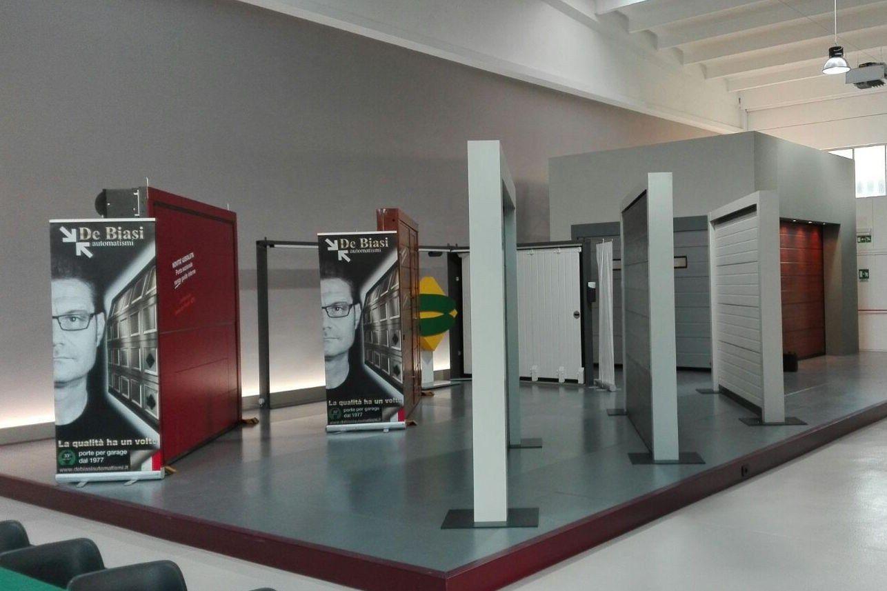 Nuovo showroom per i portoni Breda