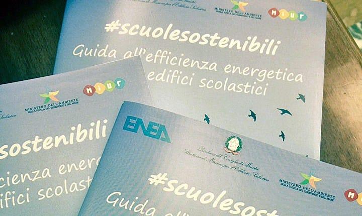 Scuole, presentata  la 'Guida all'efficienza energetica' di ItaliaSicura ed Enea