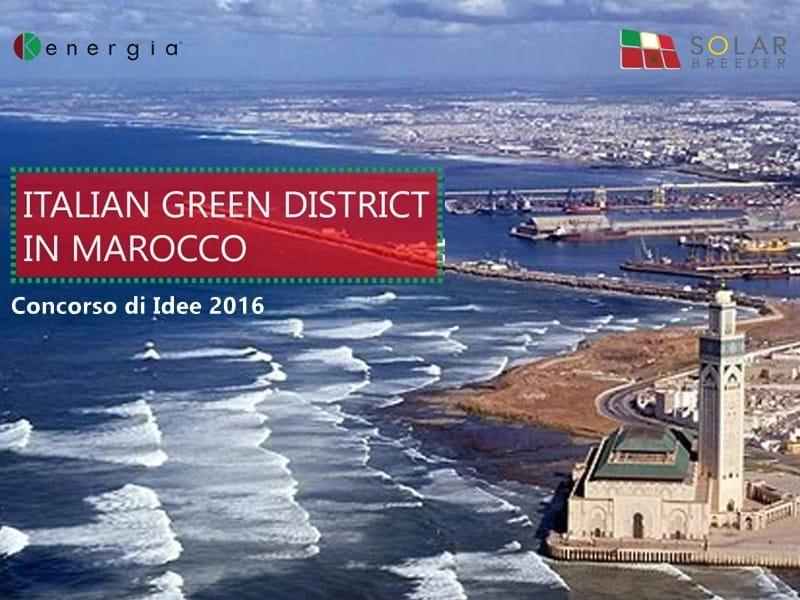 Una settimana alla chiusura di 'Italian Green District in Marocco'