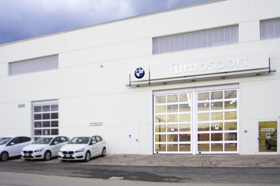 Con Breda portoni vetrina per la concessionaria BMW
