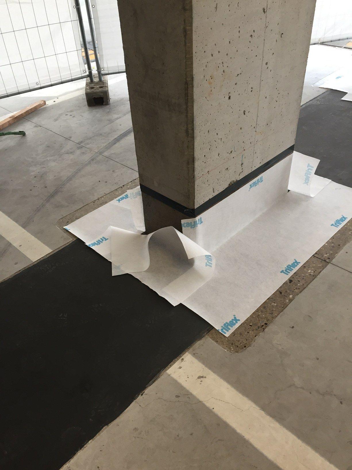 Ripristino dettagli parcheggio Triflex