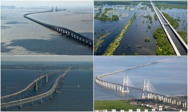 Viaggiare sospesi, i dieci ponti più lunghi del mondo