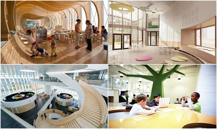Scuole innovative, dall'Italia e dall'estero le ispirazioni per gli edifici del futuro
