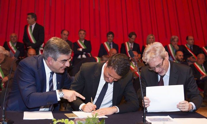 Patti per il Sud, accordi conclusi anche con Abruzzo e Bari