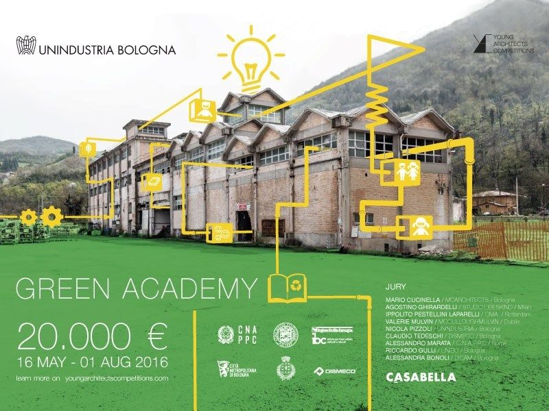 Young Architects Competitions lancia il contest Green Academy