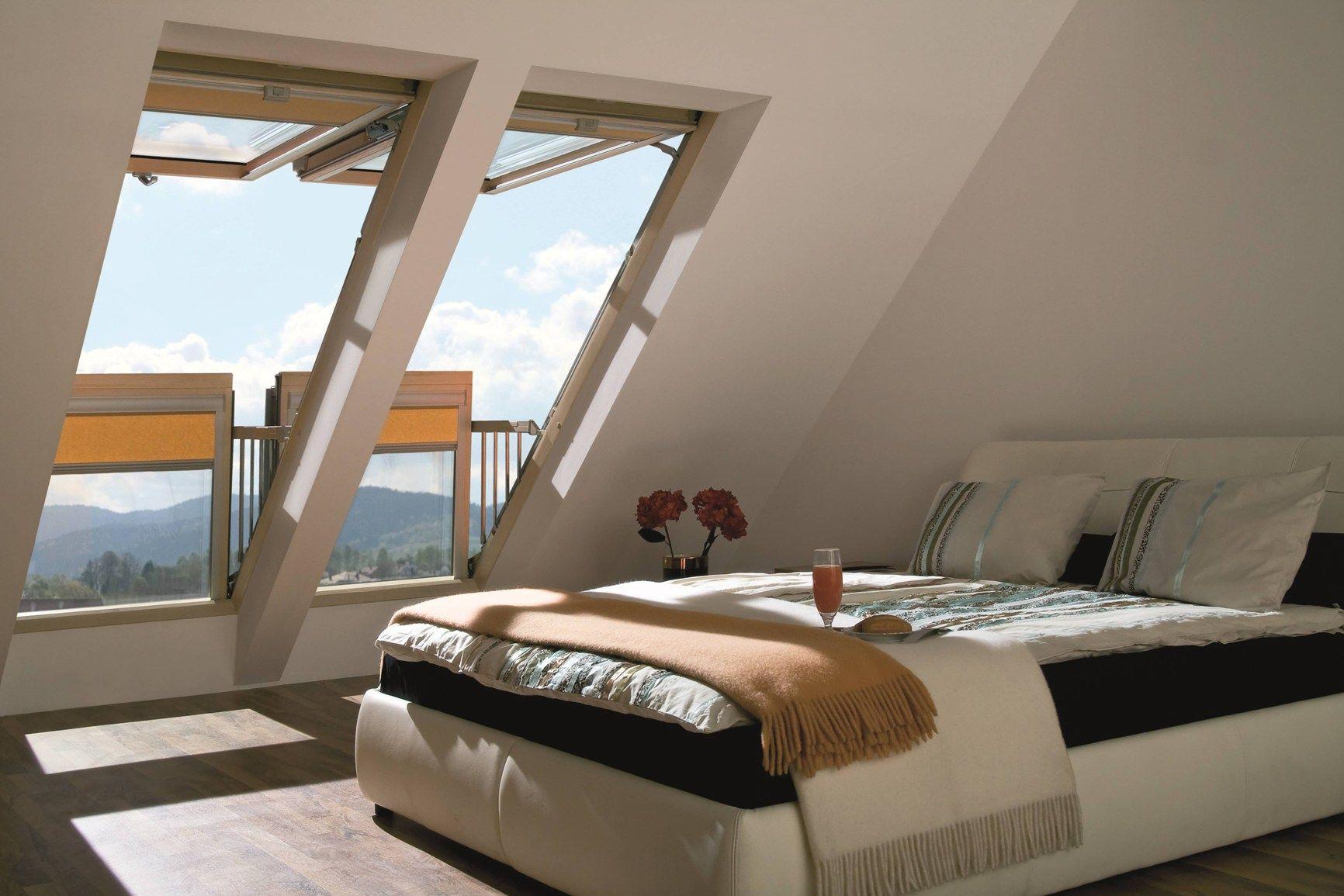 Finestra balcone Galeria FAKRO: oggi ancor più accessoriata