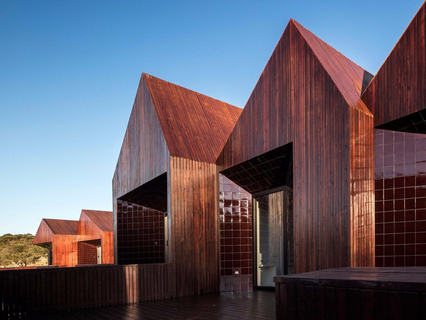 Ampliamento di un centro termale a Mêda, in Portogallo