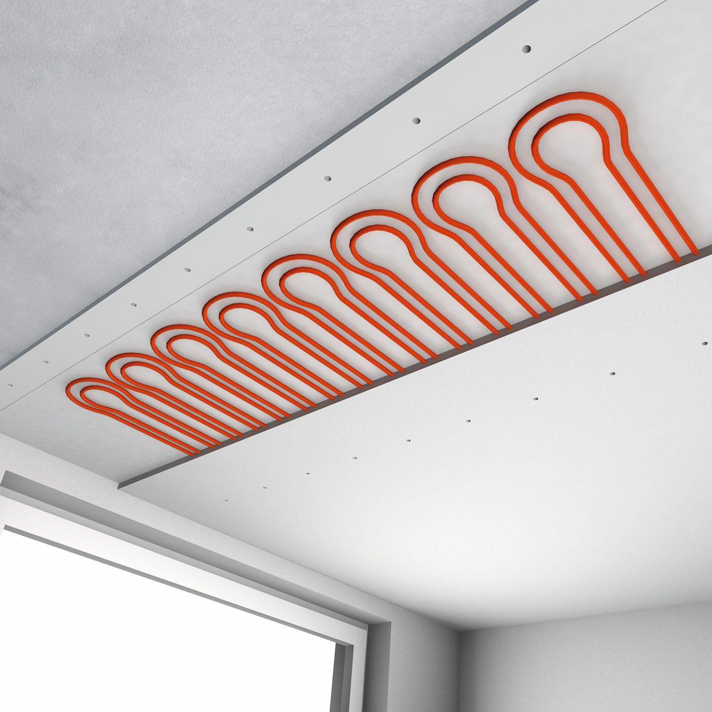 Ristrutturare con i sistemi radianti a soffitto REHAU