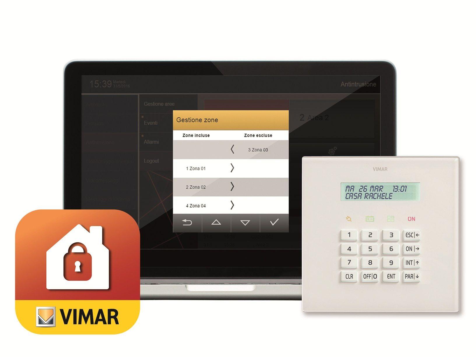Nuovo sistema di antintrusione By-alarm di Vimar