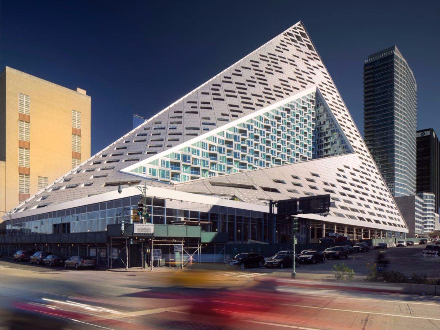 VIA 57 West: l'architettura ibrida firmata BIG - Bjarke Ingels Group