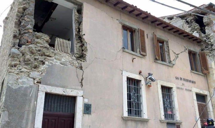 Terremoto, nuovi report fotografici dai luoghi del sisma
