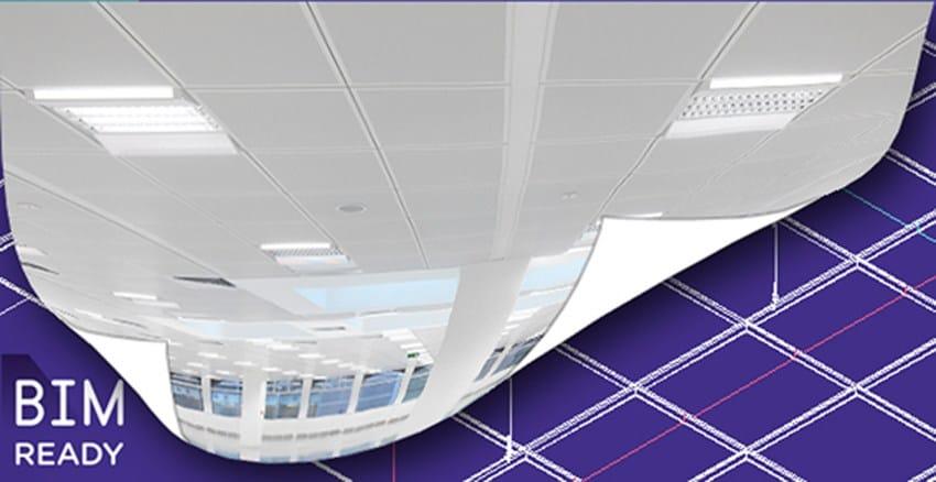 I sistemi per controsoffitti acustici di Armstrong Building Products  diventano 'digitali'