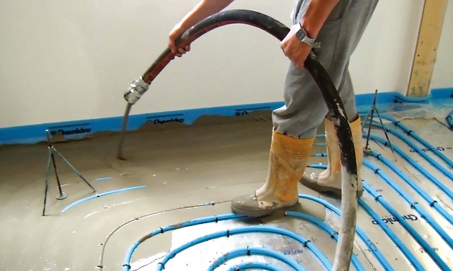 Ristrutturazione Riscaldamento A Pavimento la nuova soluzione laterlite per i sistemi di riscaldamento