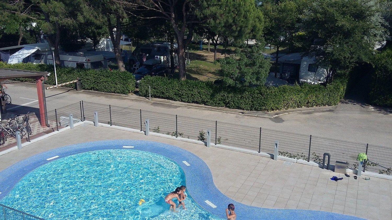 Bekafor Classic di Betafence protegge e decora un camping in provincia di Venezia