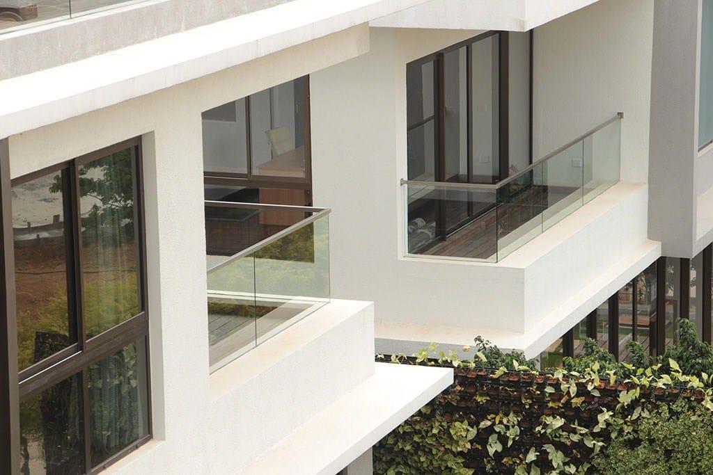 Q-railing per Ville Raffles Park, India