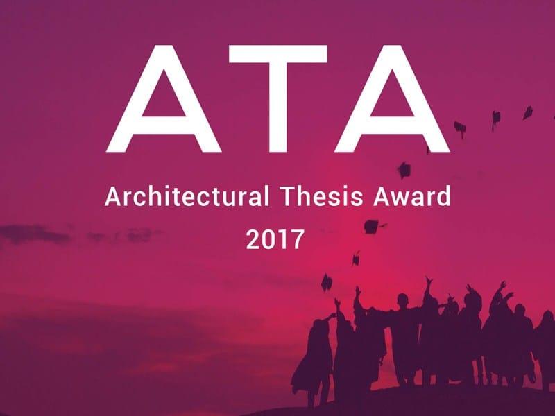 Archistart lancia ATA - Architectural Thesis Award