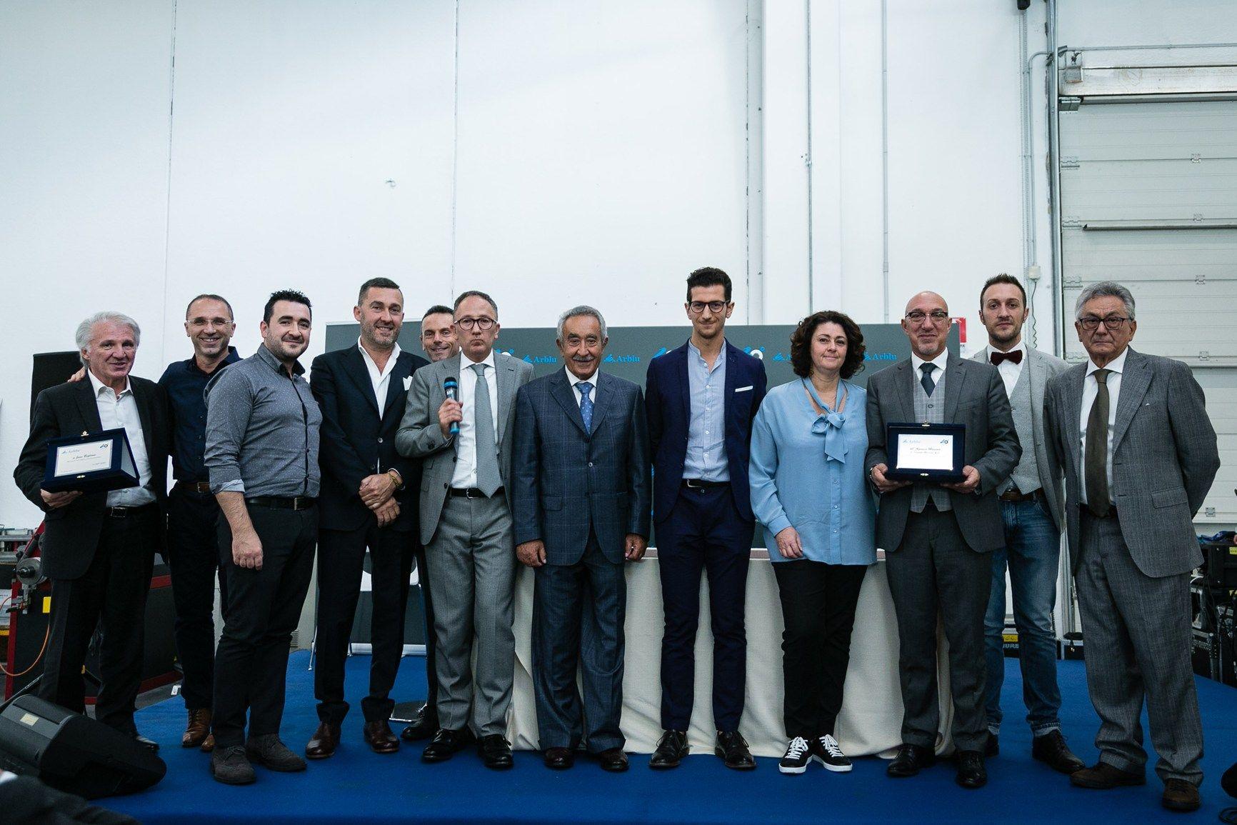 Arblu celebra vent'anni di attività