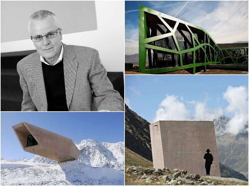 Va a Werner Tscholl il 'Premio Architetto italiano 2016'