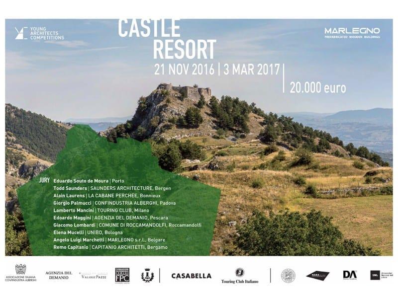 Castle Resort: il nuovo concorso di Young Architects Competition
