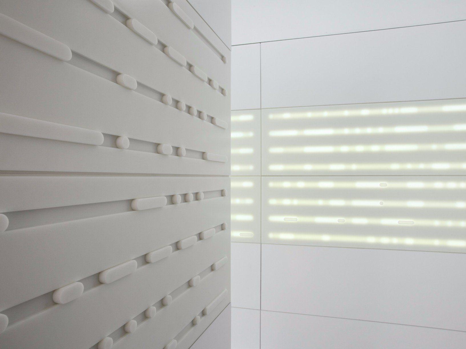 Superfici hi tech illuminazione led