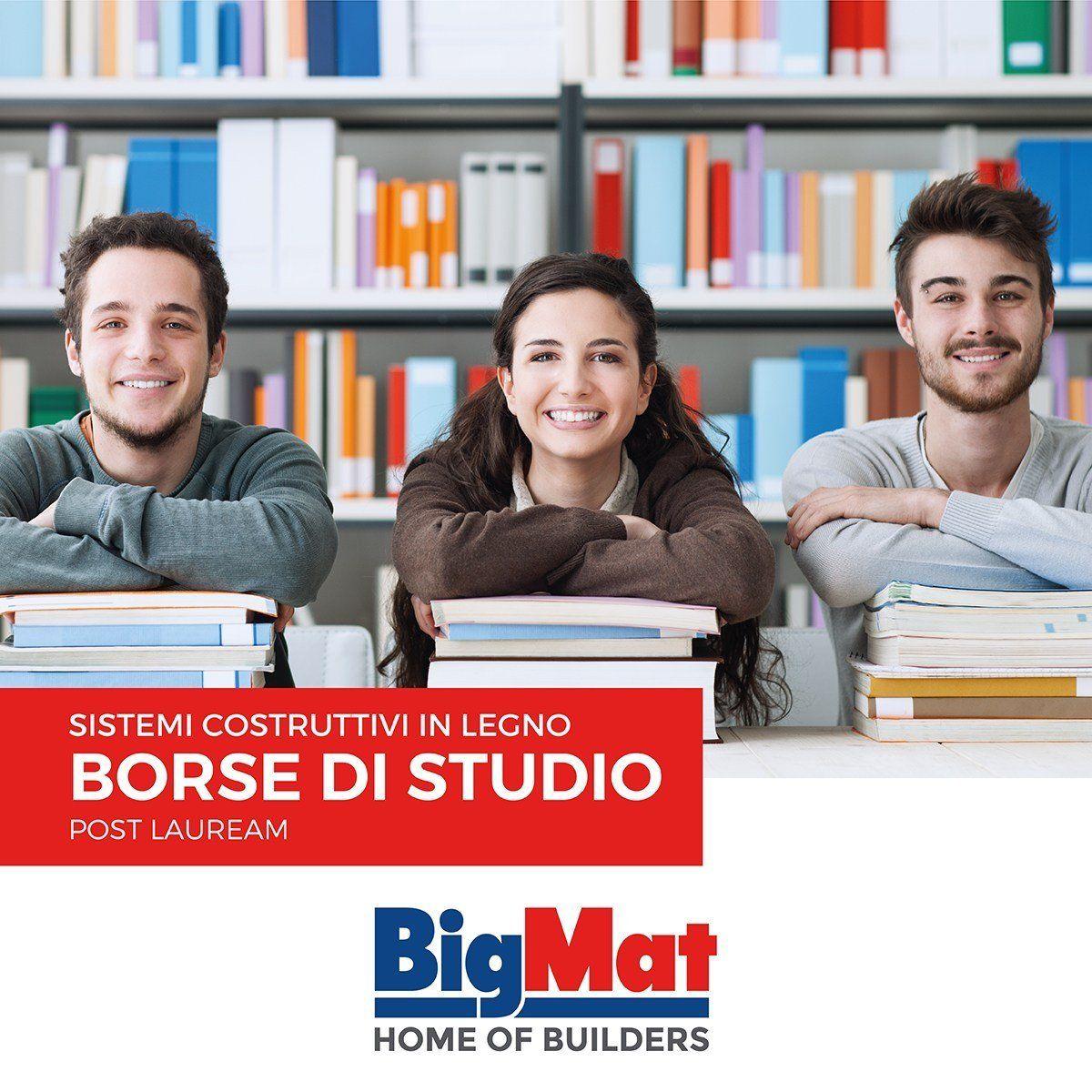 Nuove borse di studio BigMat 2016-2017 per tesi di laurea sui sistemi costruttivi in legno