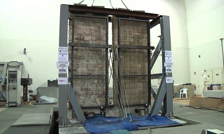 Terremoto, l'ENEA lo riproduce per studiare la resistenza delle strutture