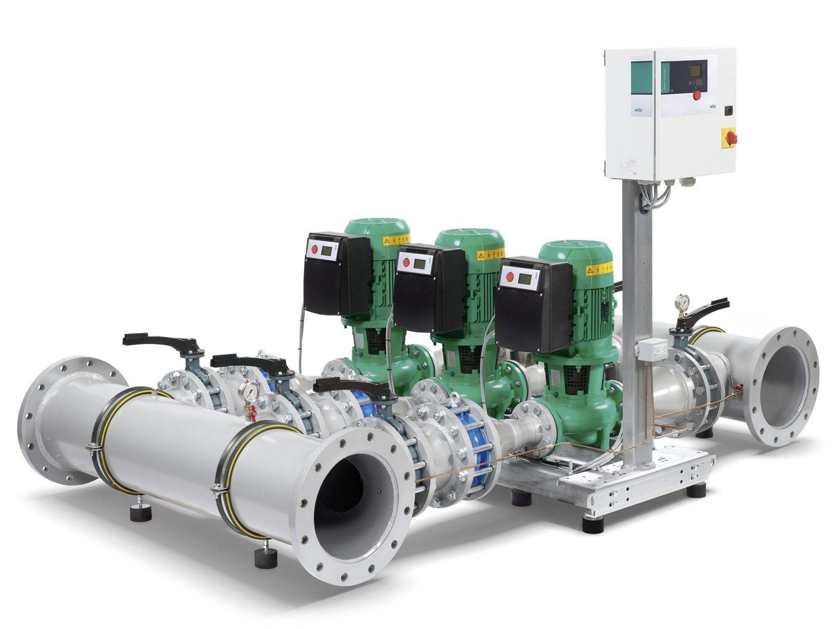 Wilo-SiFlux il sistema di pompe integrabile di Wilo
