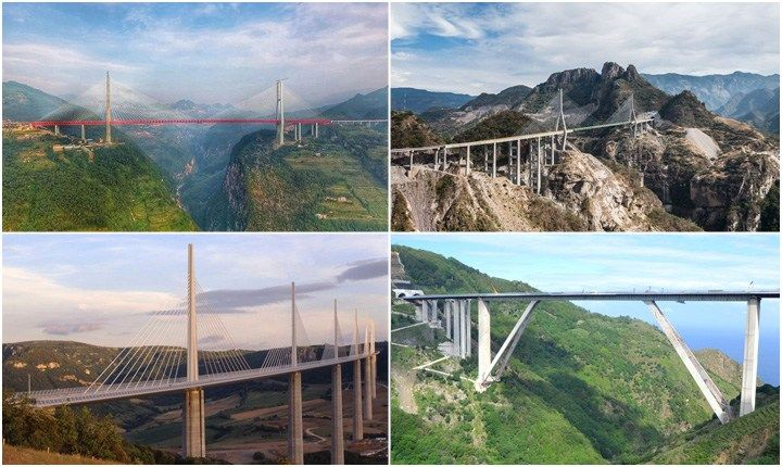 Viaggiare sospesi, i ponti più alti del mondo