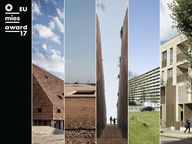 Annunciati i 5 progetti finalisti del Premio Mies van der Rohe 2017