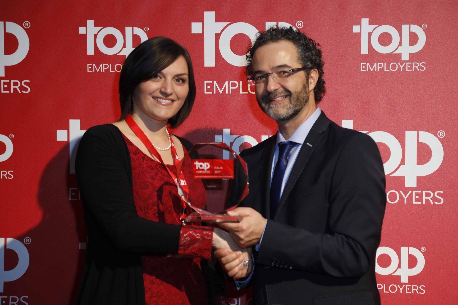 Top Employers 2017: per il terzo anno consecutivo Lechler consegue l'ambito certificato