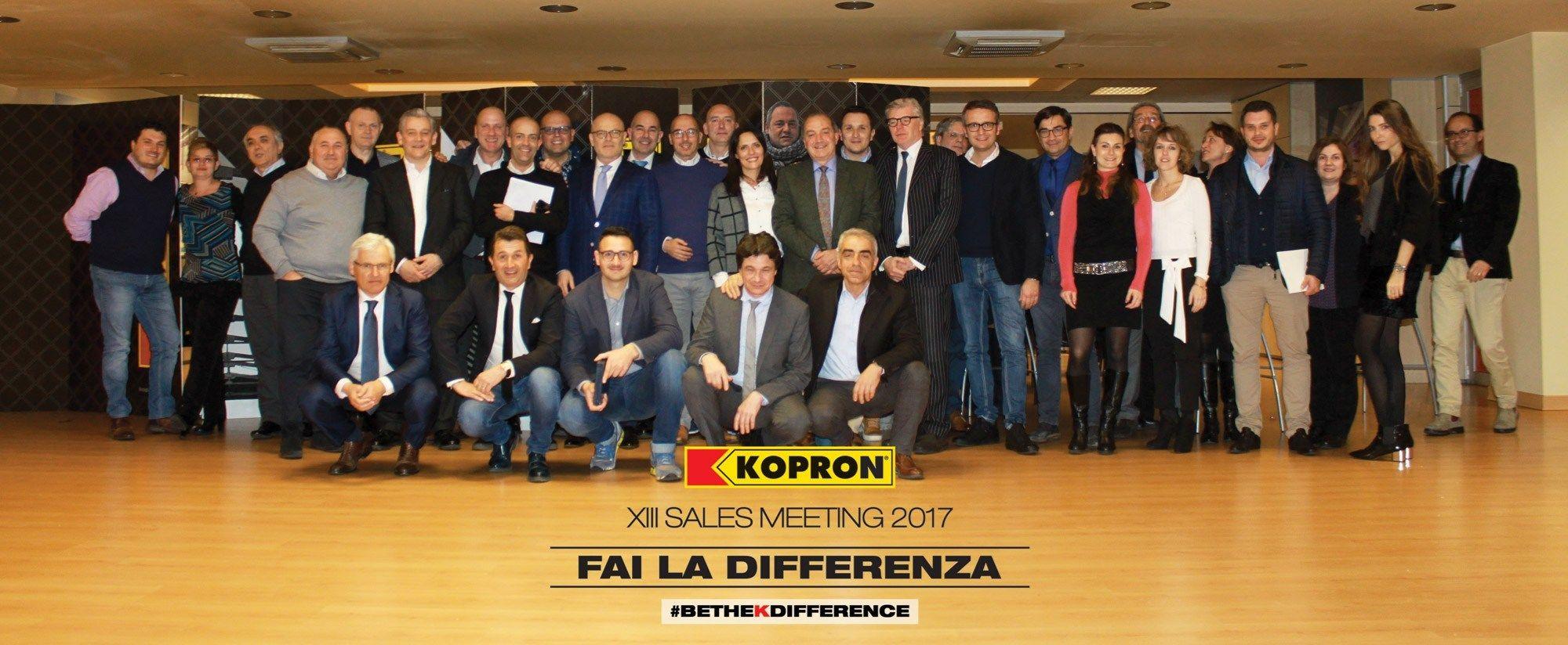 Kopron Italia, grande meeting nel quartier generale di Milano