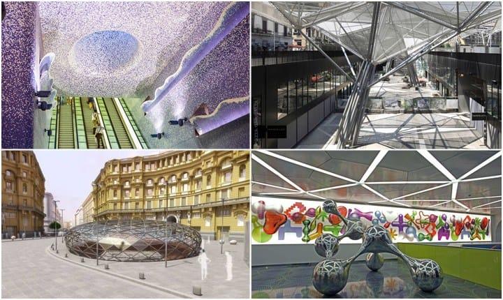 La rivoluzione artistica della metropolitana di Napoli