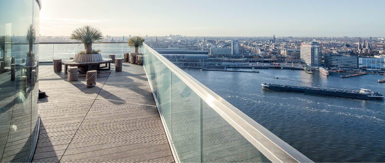 Amsterdam: Q-railing per Torre A'DAM