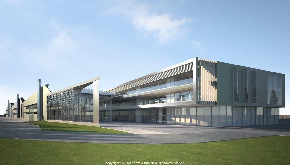 Penetron Admix per il nuovo complesso Petronas nel comune di Santena