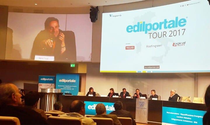 Edilportale Tour 2017 a Roma con Mario Tozzi e l'Assessore Montuori