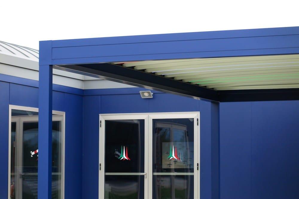 A 'casa' delle Frecce Tricolori, la vita open air è firmata Pratic