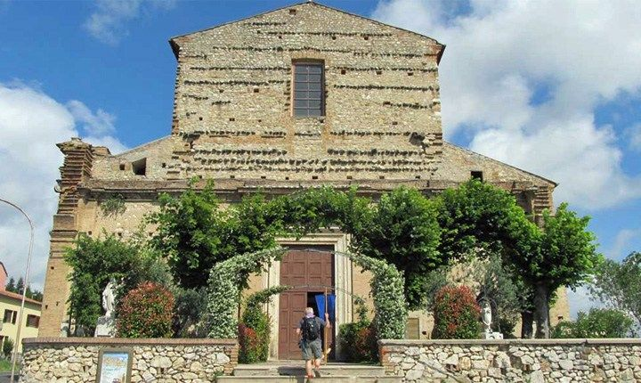 Chiesa di Santa Maria della Cerqua a Narni (TR) - www.camminoprotomartiri.it