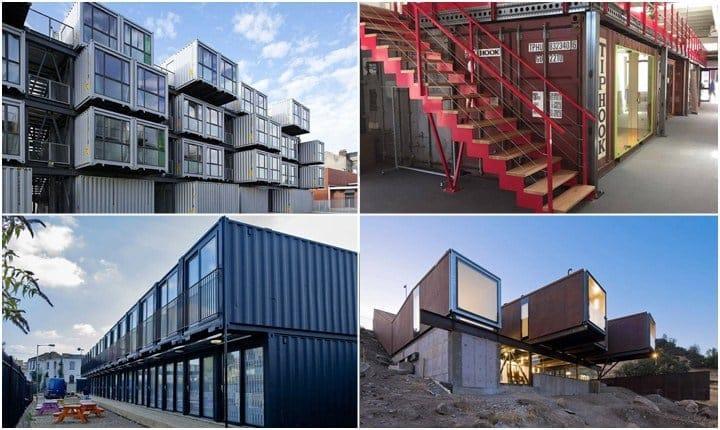 Vivere e lavorare in un container, scelta green e di design