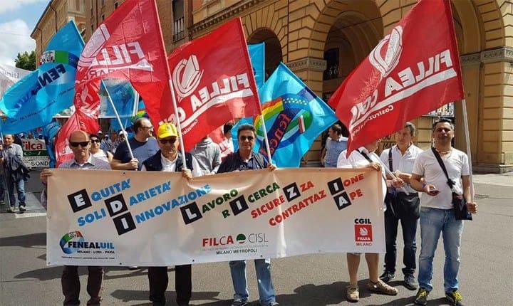 Mobilitazione nazionale edili, sindacati soddisfatti